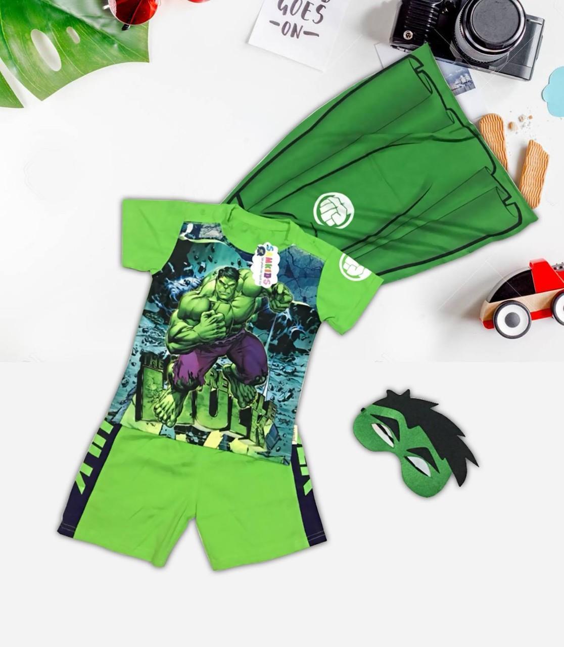 Kết quả hình ảnh cho quần áo hình người khổng lồ xanh Hulk