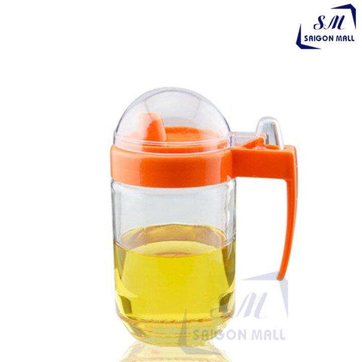 [HCM]Bình chiết rót bằng thủy tinh nắp nhựa 510 có nắp che đậy bình chiết rót bình đựng pha chế thủy tinh bình đựng nước mắm bình thủy tinh đựng chất lỏng