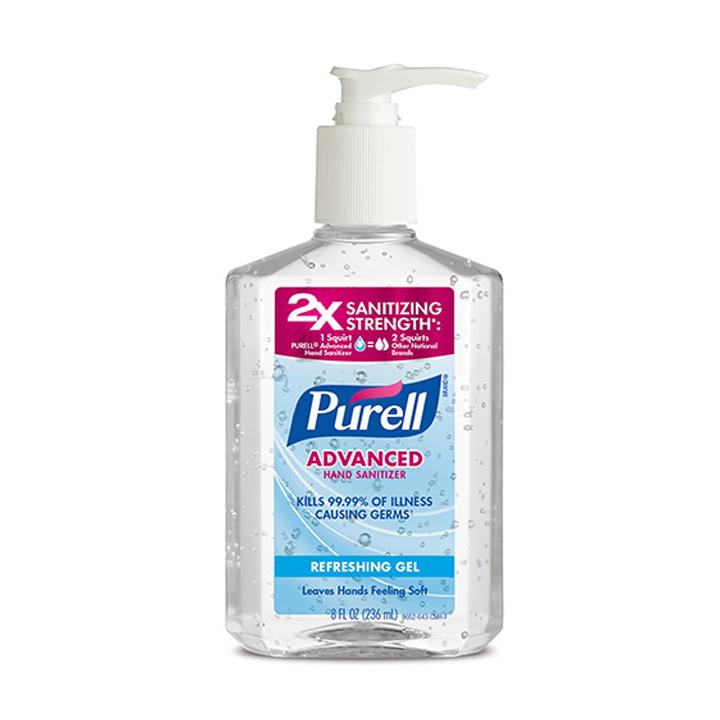 Gel rửa tay khô khử trùng & diệt khuẩn PURELL 236ML -Hàng xách tay Mỹ