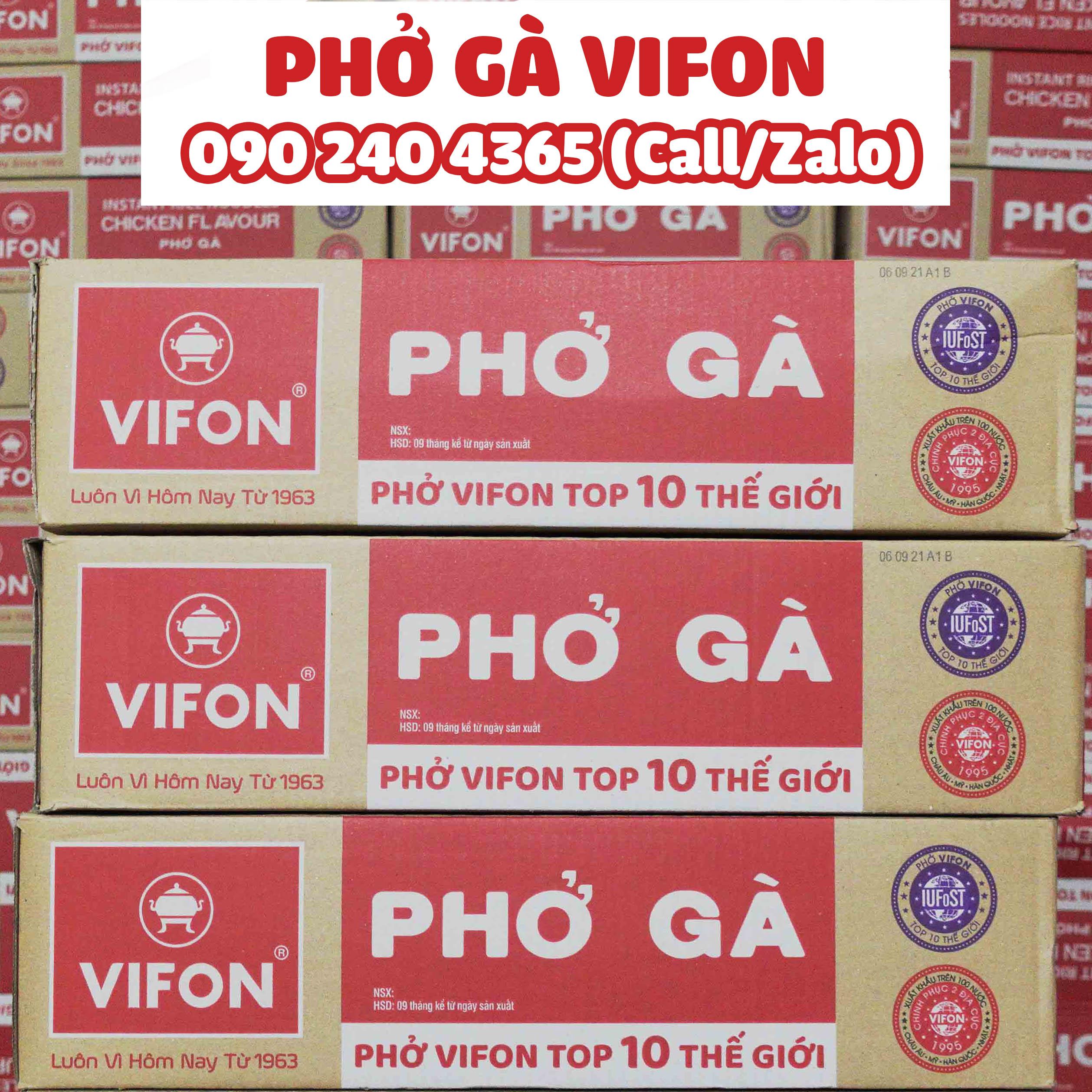 THÙNG PHỞ GÀ VIFON - 30 GÓI