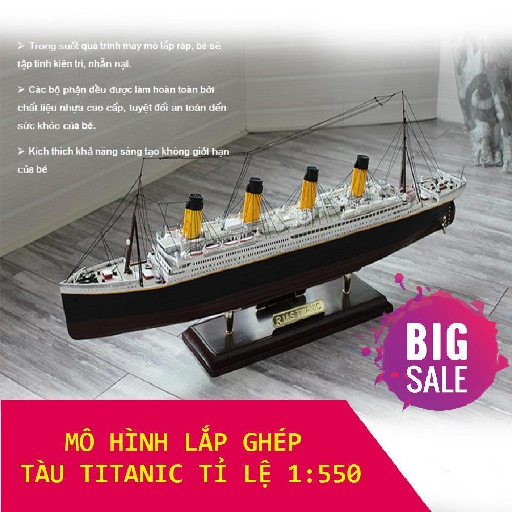 Bộ Mô Hình Lắp Ghép Tàu RSM Titanic 1:550, Đồ chơi cho bé , Lắp ghép lego, Đồ Chơi Giúp Bé Phát Triển Trí Thông Minh, Chất Liệu An Toàn Không Độc Hại Cho Bé, Món Quà Ý Nghĩa Giúp Bé Sáng Tạo Rèn Tính Kiên Trì Nhẫn Nại Cho Bé.