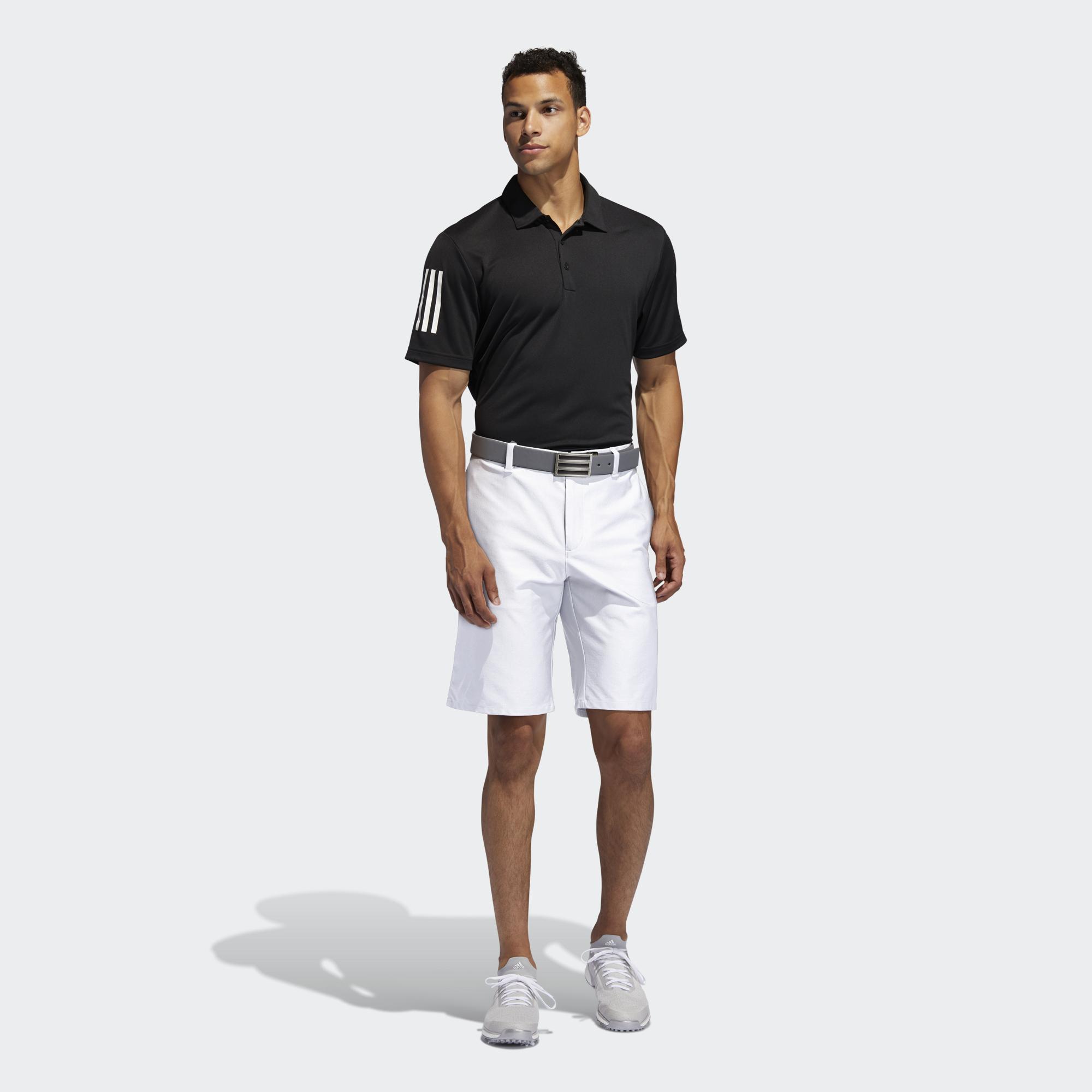 adidas GOLF Quần short thi đấu Ultimate365 3 Sọc Nam Màu trắng FJ9881