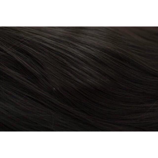Tóc giả nữ kẹp FREESHIP kẹp thẳng dài 60cm 6