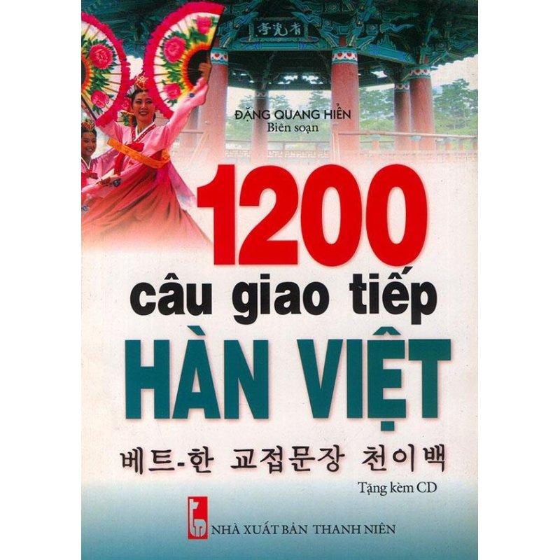 Mua 1200 câu giao tiếp Hàn Việt (kèm CD)