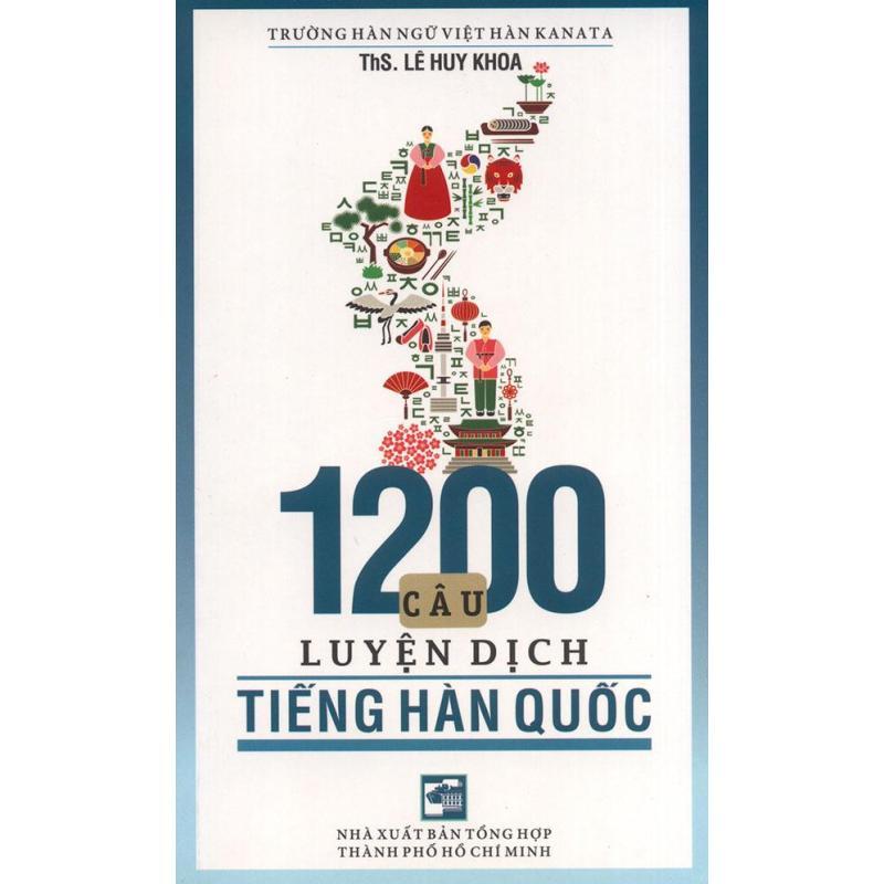 Mua 1200 câu luyện dịch tiếng Hàn Quốc