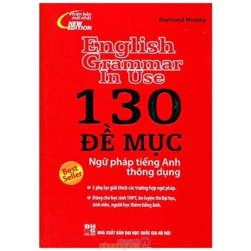 Mua 130 Đề Mục Ngữ Pháp Tiếng Anh Thông Dụng (Bìa đỏ)