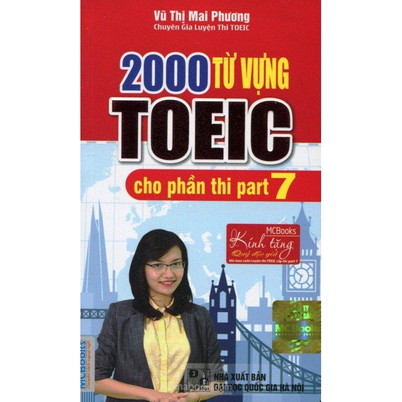 Mua 2000 từ vựng TOEIC cho phần thi part 7 ( cô mai phương)