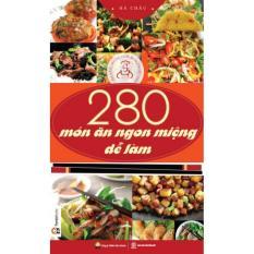 Mua 280 Món ăn ngon miệng dễ làm