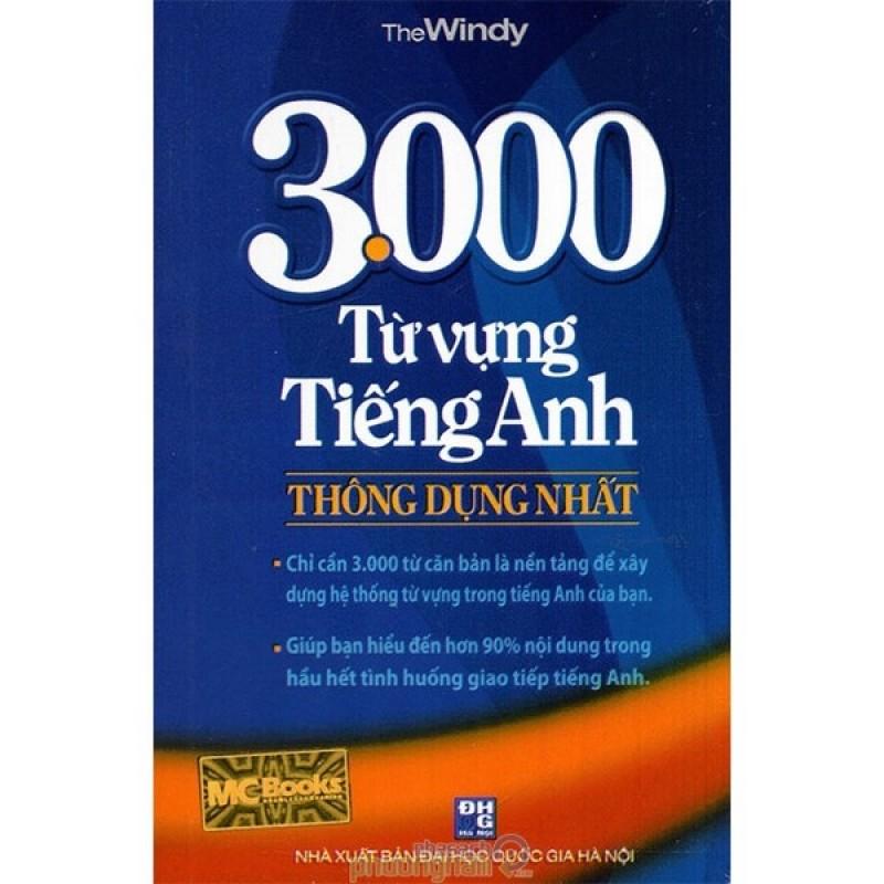 Mua 3000 Từ Vựng Tiếng Anh Thông Dụng Nhất