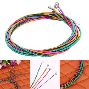 Sale 4pcs Colorful Electric Bass Strings Hexagonal Core Nickel AlloyWound (Multicolor) - intl mua tiết kiệm - Giá chỉ 127.190đ