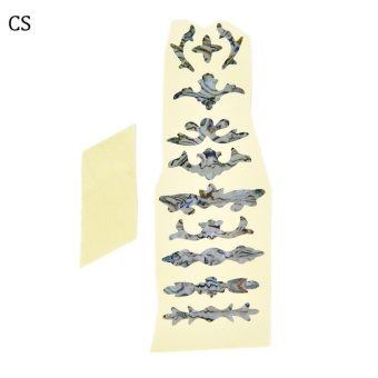 Acoustic Electric Tree Of Life Music Guitar Bass Diy Neck Fretboard/ Fret Inlay Ceremony Stickers - intl
