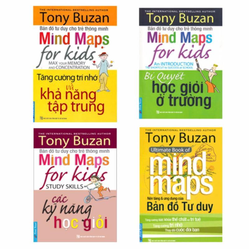 Mua Bản đồ tư duy cho trẻ thông minh (Trọn bộ 4 cuốn) - 308k