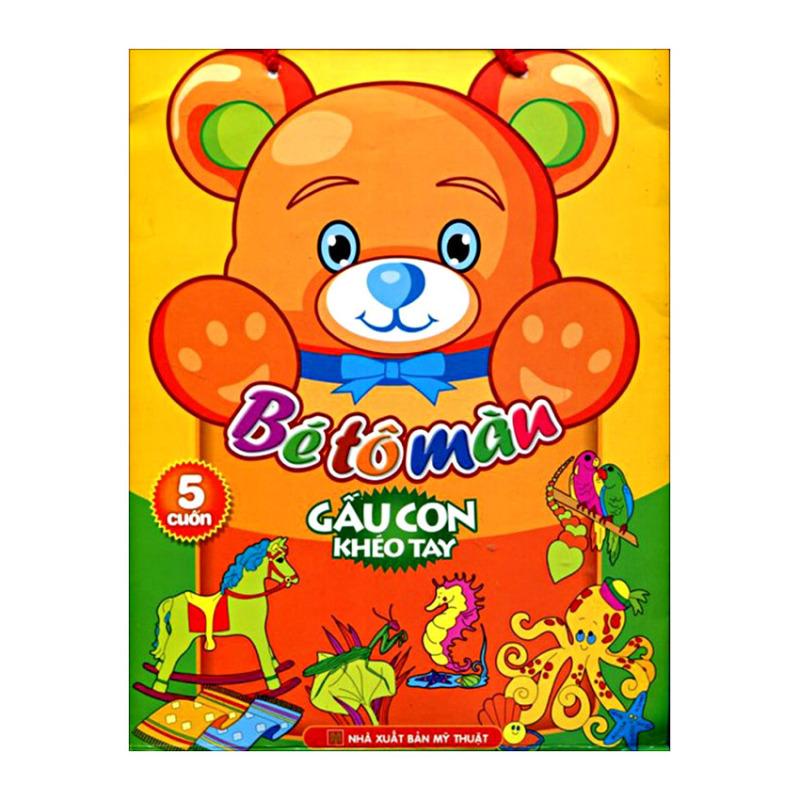 Mua Bé tô màu gấu con khéo tay