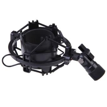 Black Microphone Shock Mount Cradle Holder Clip Stand F/ Diameter44mm-47mm - intl - 8815835 , VA466MEAA5OZK0VNAMZ-10443485 , 224_VA466MEAA5OZK0VNAMZ-10443485 , 152500 , Black-Microphone-Shock-Mount-Cradle-Holder-Clip-Stand-F-Diameter44mm-47mm-intl-224_VA466MEAA5OZK0VNAMZ-10443485 , lazada.vn , Black Microphone Shock Mount Cradle Hol