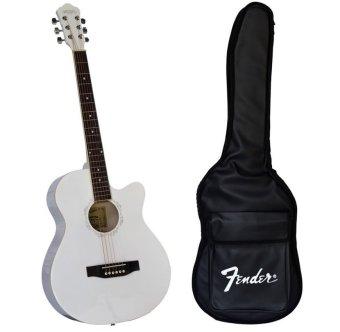 Bộ đàn guitar acoustic Vines VA3910WH + Bao đàn guitar 03 lớp SOL.G