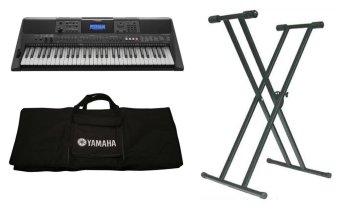 Bộ Đàn Organ Yamaha E453 + Bao đàn Organ 2 lớp + Chân đàn Organ kép