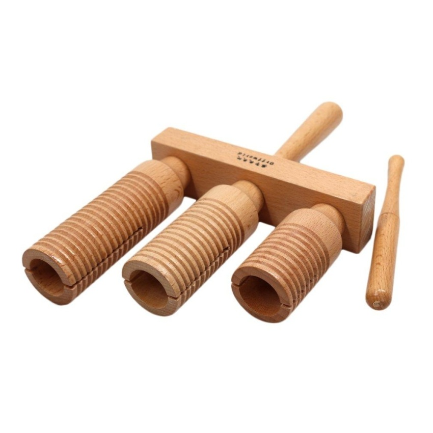 Cheer beech wood three sound tube high middle low tone