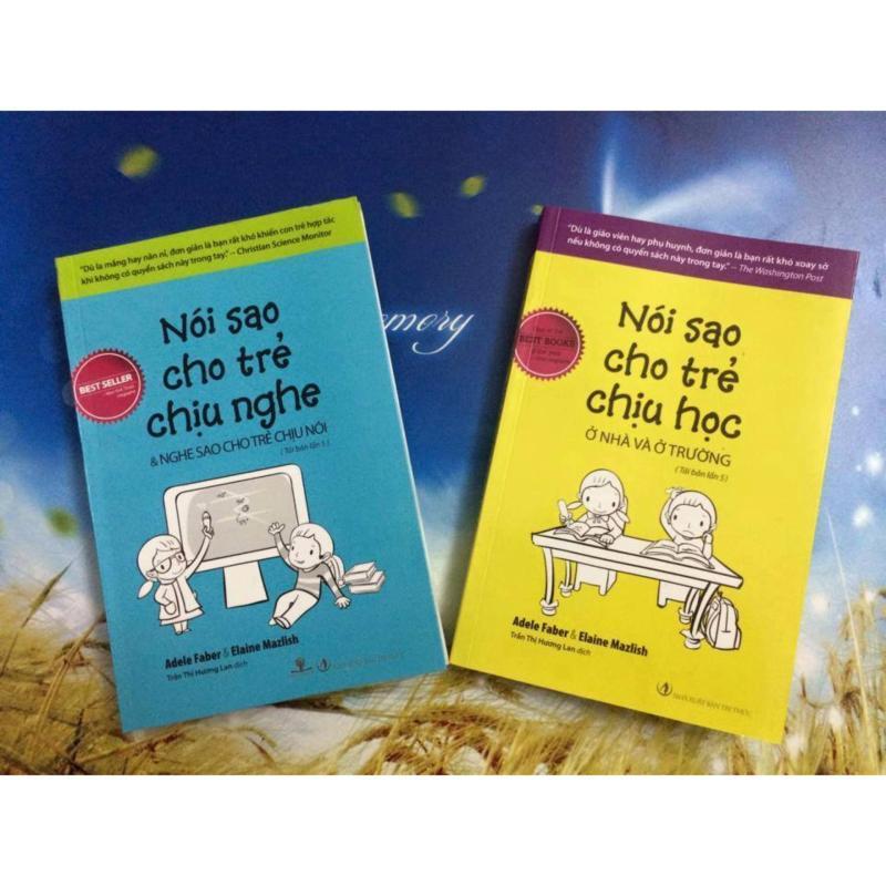 Mua Combo sách Nói sao cho trẻ chịu nghe và Nói sao cho trẻ chịu học