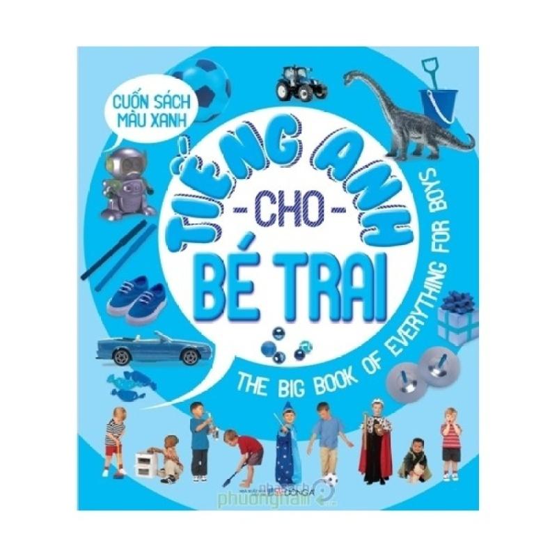 Mua Cuốn Sách Màu Xanh - Tiếng Anh Cho Bé Trai