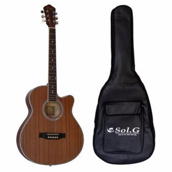 Đàn guitar acoustic Vines VA4045N+ Bao đàn