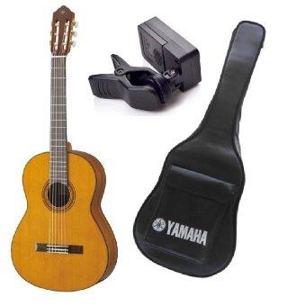 Đàn Guitar Yamaha C80 + Bao đàn Guitar Yamaha 03 lớp + Máy lên dâyJT10