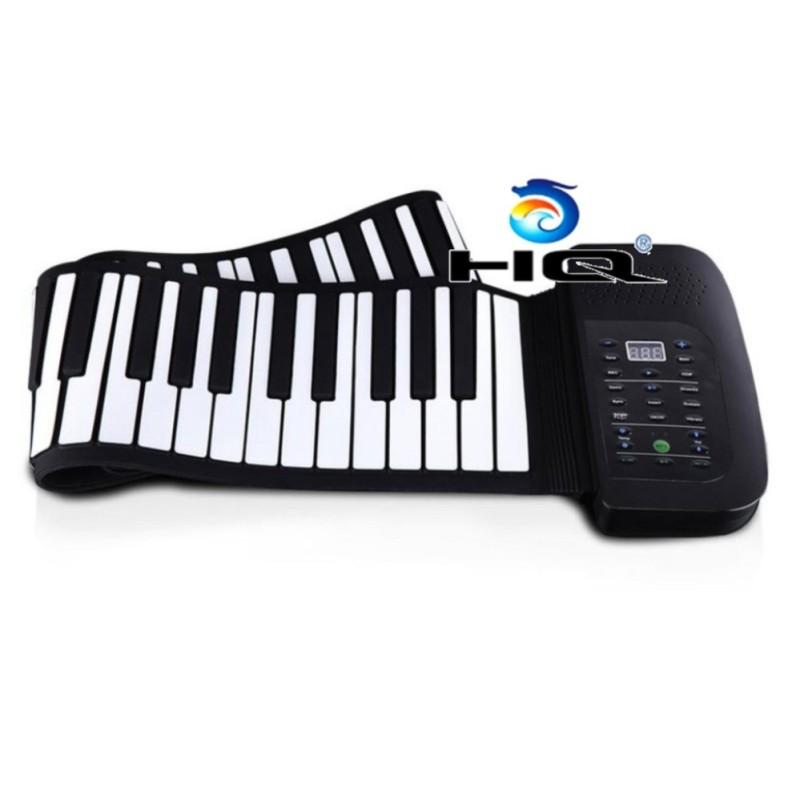 Đàn Piano điện tử bàn phím cuộn dẻo 88 keys HQ 4TI56 + Tặng 1 móc khóa da cao cấp K 550