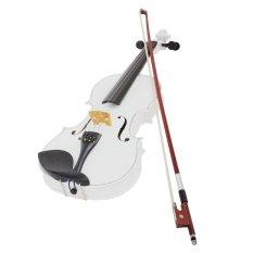 Đàn Violin Thân Gỗ Dây Đàn Thép Chất Liệu Gỗ Thông Nhạc Cụ Dành Cho Người Mới Bắt Đầu – Quốc tế