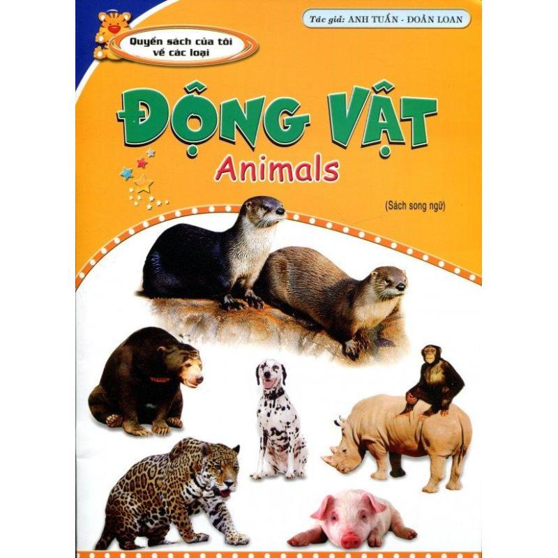 Mua Động Vật - Animals (Sách Song Ngữ) - Anh Tuấn - Đoàn Loan