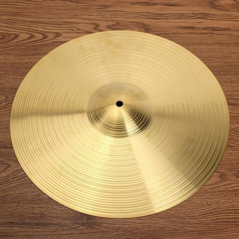 Drum kit brass cymbal 16 inch Gold - intl