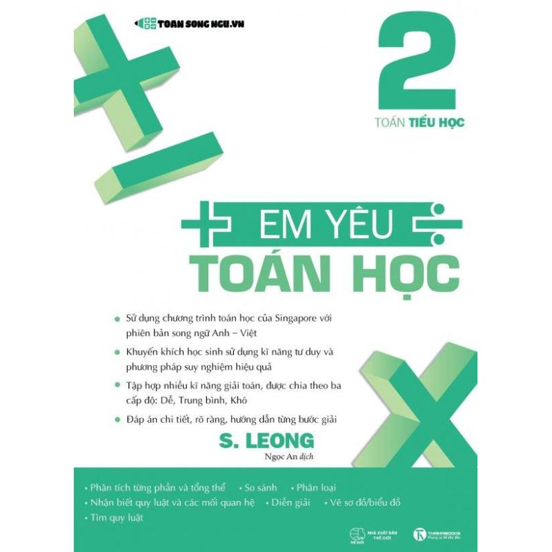 Mua Em Yêu Toán Học - Tập 2 (Song Ngữ Anh - Việt) - S. Leong,Ngọc An