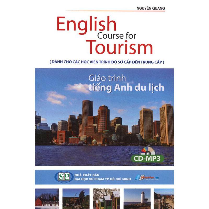 Mua English Course for Tourism - Giáo trình tiếng Anh du lịch (kèm CD)