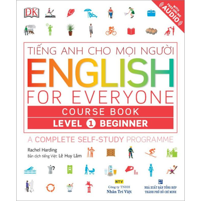 Mua English for Everyone – Level 1 Beginner – Course Book (kèm CD)