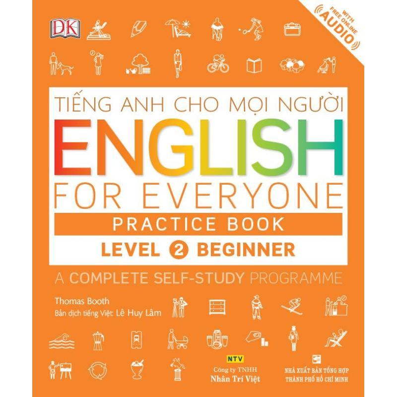 Mua English for Everyone – Level 2 Beginner – Practice Book (kèm CD)
