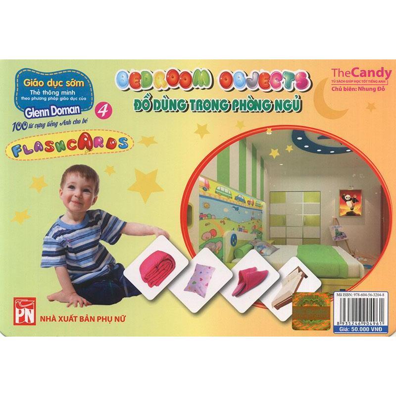 Mua Flashcard Bedroom Objects - Đồ dùng trong phòng ngủ