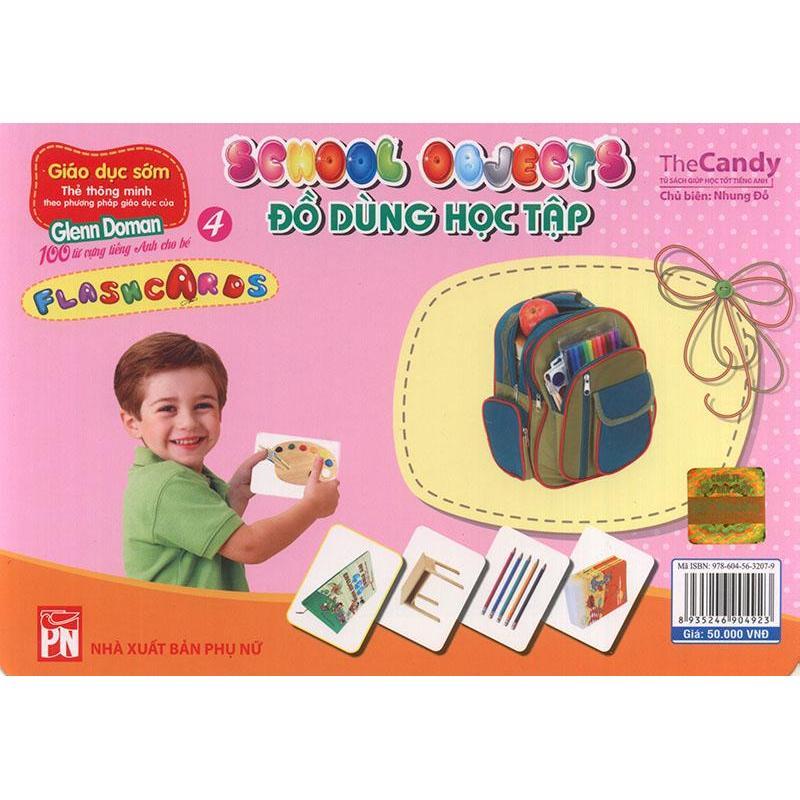 Mua Flashcard School Objects - Đồ dùng học tập