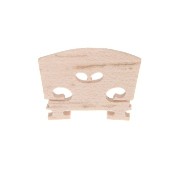 Full Size 4/4 Violin Bridge Maple 34mm in Height 3mm in Thickness Exquisite Workmanship - intl