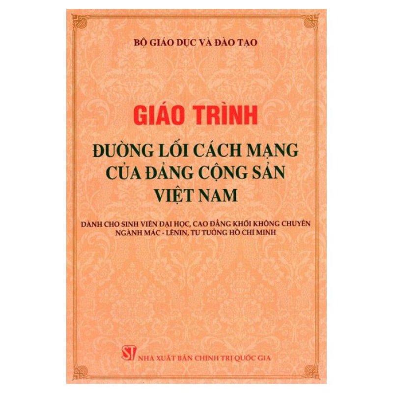 Mua Giáo Trình Đường Lối Cm Của Đcs Việt Nam