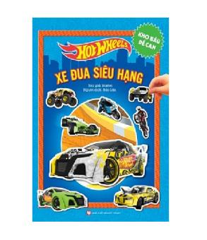 Hot Wheels Kho báu đề can - Xe đua siêu hạng