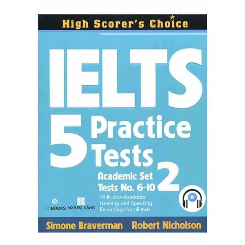 Mua IELTS 5 Practice Tests - Academic Set 2