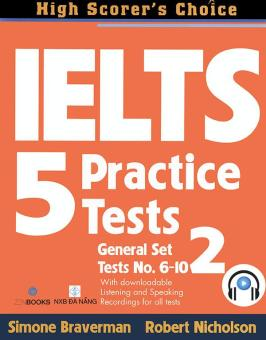 Ebook IELTS 5 Practice Tests - General Set 2 (kèm 1 CD) PDF