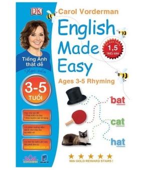 Tiếng Anh Thật Dễ 3-5 Tuôi - Học Vần