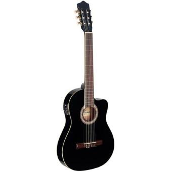 Đàn guitar classic electric Stagg C546 TCE BK (Đen)