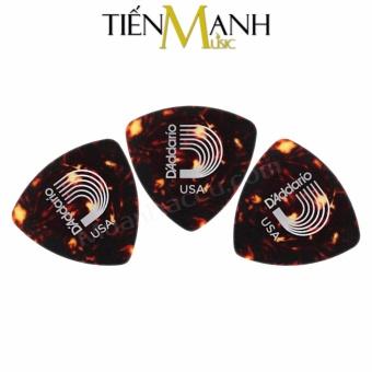 Combo 3 móng gẩy dày 1.25mm D'Addario Pick 2CSH7 (Cho Đàn Guitar, Ukulele, Mandolin, Nguyệt...)