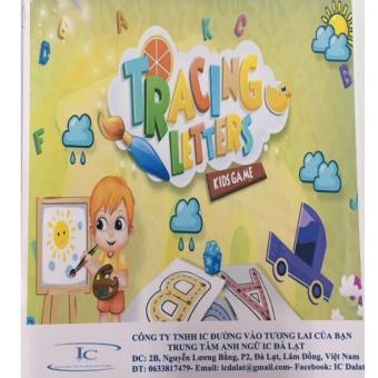Tập đồ chữ cái tiếng Anh cho bé từ 4-6 tuổi - Tập 1