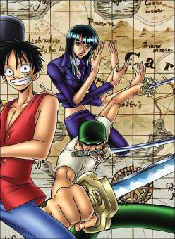 Số One Piece khổ A5 - Quyển 3