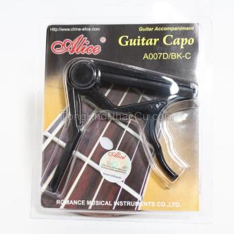 Capo Guitar Alice A007D/BK-C