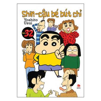 Shin - Cậu Bé Bút Chì (Tập 32) - Yoshito Usui