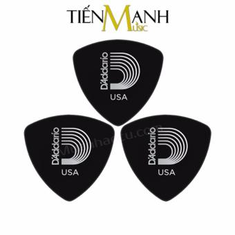 Combo 3 móng gẩy dày 1.0mm D'Addario Pick chính hãng 2CBK6 (Cho Đàn Guitar, Ukulele, Mandolin, Nguyệt...)