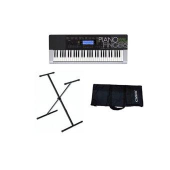 Đàn organ Casio CTK-4400 + Chân X đơn + Bao đàn Casio đen