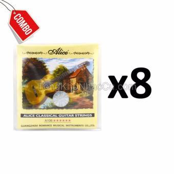 Combo 8 Bộ dây A106 cho đàn guitar Classic